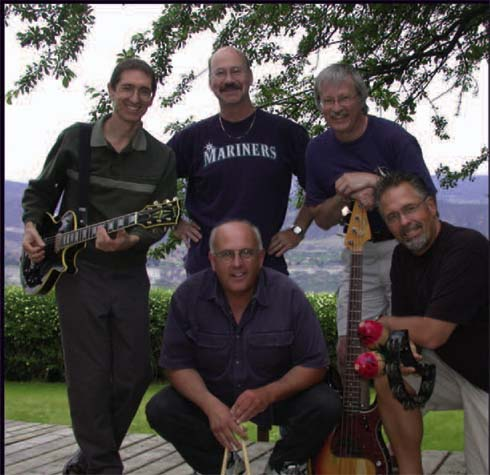 Band photo - July 2005